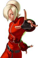 King of Fighters 98 UM OL Ash Crimson by hes6789