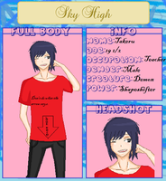 SkyHigh Takeru by AnimeGirl161