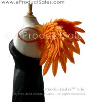 eProductSales Angel Wings Halloween ORANGE CHII by eProductSales