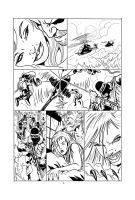Sabretooth And Lotti Fan  Comic pg 3 by RodneyCJacobsen