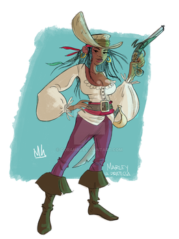 Marley, the pirate by Coram85