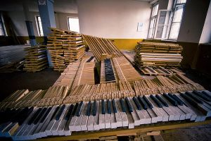 Piano factory by mjagiellicz