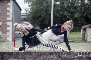 Ballet meets Zombies: Entwined 1 by SeelederSchar