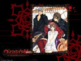 Vampire Knight Wallpaper by Galatea-DNegro