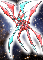 New Form For Deoxys by KazeNekoNoDaisy