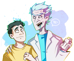 rick+morty by Arkeresia