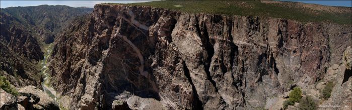 black canyon of the gunnison by souk1501