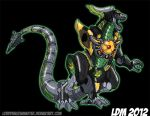 :Time for Dragonzord Power: by Lorddragonmaster