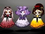 Happy Halloween/Dia de los Muertos by MangoBunnies