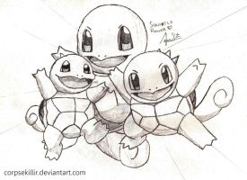 Squirtle Power Request from HordeofPenguins by Corpse-Killir-PhD
