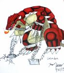 Request: Groudon in chains for KunYKA by AgentAlaskatheFree