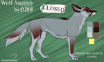 Wolf Auction Blue -closed- by DJ88
