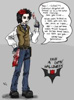 Have A Gothy Halloween 2009 P1 by TheMonkeyYOUWant