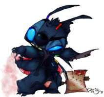 JUGGALO SPIRIT: Stitch by FloatingBubbles