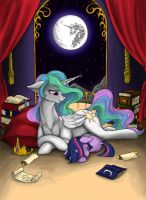 The Stars, The Moon by Longinius-II