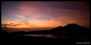 Sunrise at Mount Batur IV by Haufschild