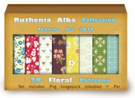 Txt Set 32: Floral Patterns by Ruthenia-Alba