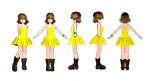 MMD NEWCOMER Selphie by 2234083174