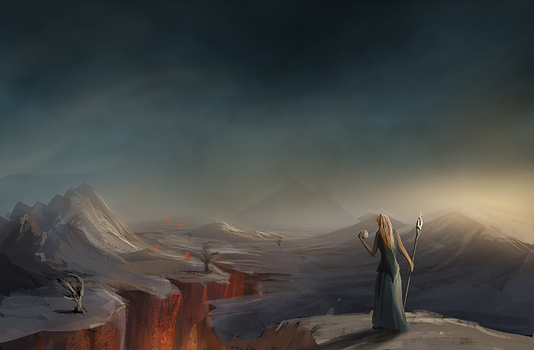 Into the Godlands by Verticae