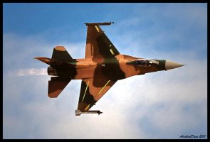 Aggressor F-16 II by AirshowDave