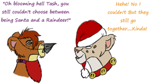 Me And Abi Xmas by animal-lover-247