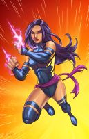 Psylocke Unleashed by Igloinor