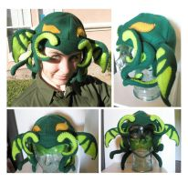 Fleece Cthulhu Hat by bdunn1342
