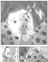 Yellow in Wonderland S1 page 3 by chococustard