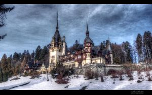Peles Castle by valiunic