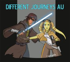 SW Rebels: Different Journeys AU Cover Page by carrinth