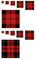 Scots Plaid GIMP Patterns .pat by 1389AD
