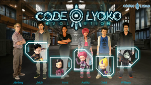 Code Lyoko Evolution Group by XMarcoXfansubs