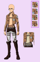BASE 69 - Attack on Titan uniform - youngermalever by Rainfall-Bases