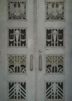 Bureau of Engraving Entrance by 44NATHAN