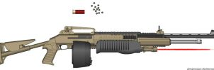 Scillia 9500-T.F.A.S. Shotgun by Lord-DracoDraconis