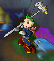 Gnome the Mighty by RealBigNUKE