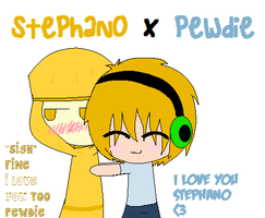 Stephano x PewDie by Ask-the-BroArmy