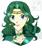 Bust of Sailorneptune by kuroitenshi13