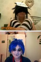 Just another day on Omegle by WolfLinkByDarkEco
