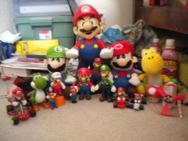 My Mario Toys by KingofMarioCynder1