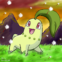 A Wild Chikorita by pokesafari