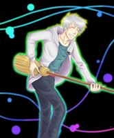 Prussia broom-guitaring by Flydinodino