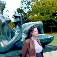 Henry Moore's Mother And Child And Mother At Kew by aegiandyad