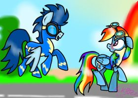MLP: Welcome at the academy Dash! by KikiRDCZ