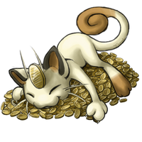Meowth by LittleTihany