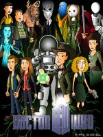 Doctor Who Series 6 poster by CPD-91