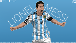 Lionel Messi Vector Work DONE! by MERKALGraphic