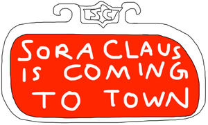Sora Claus is Comin' to Town by jacobyel