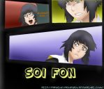 Bleach 515 Soi Fon by hinataconsuegra