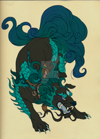 Foo Dog: Contest Entry: Auction (CLOSED) by CrowAdoptables